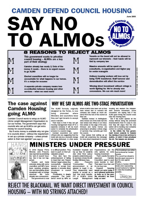 say no to almos
